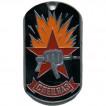 Жетон 7-18 Спецназ Кулак с автоматом металл