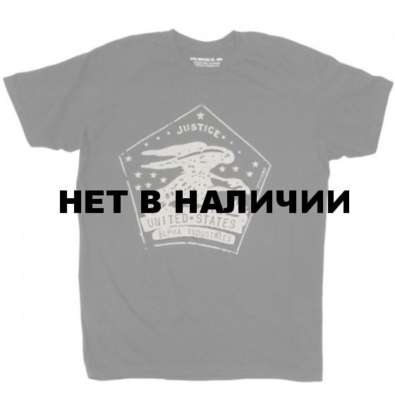 Футболка Postal T-Shirt Alpha Industries
