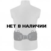 Пояс универсальный РПС/рюкзачный черный 84 см