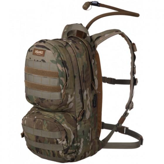 Рюкзак с питьевой системой COMMANDER 10L WXP Multicam