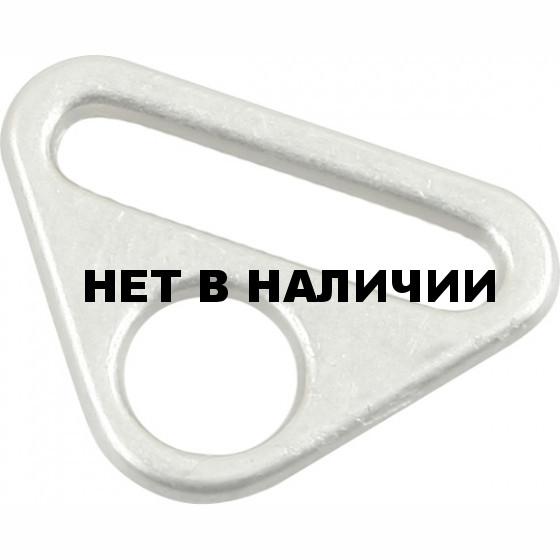 Кольцо треугольное с отверстием метал. 25мм, никель
