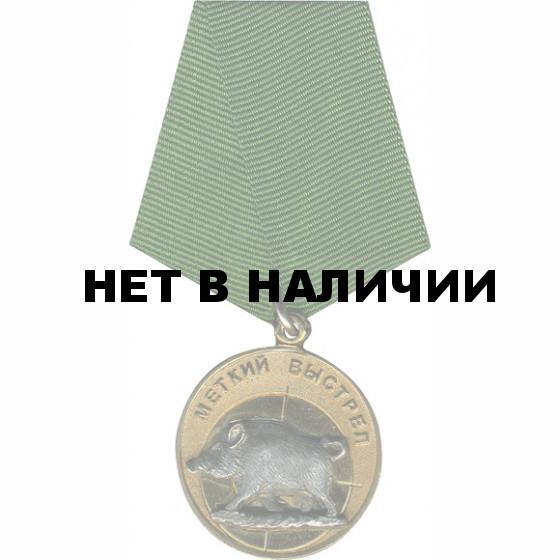 Медаль Меткий выстрел - Тетерев металл