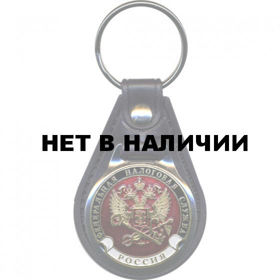 Брелок Россия Федеральная налоговая служба на подложке