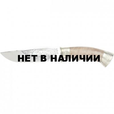 Нож Шаман мельхиор (Блажко)