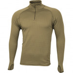 Термобелье футболка L/S Tactigrid серо-оливковая