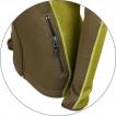 Куртка женская Jannu Polartec brown/mustard