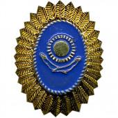 Кокарда Казахстан герб металл