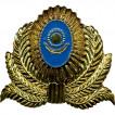 Кокарда Казахстан герб в обрамлении металл