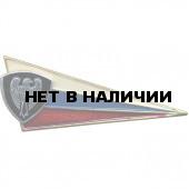 Знак на берет Флаг РФ ВВ сокол металл