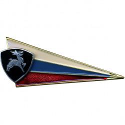 Знак на берет Флаг РФ ВВ олень металл