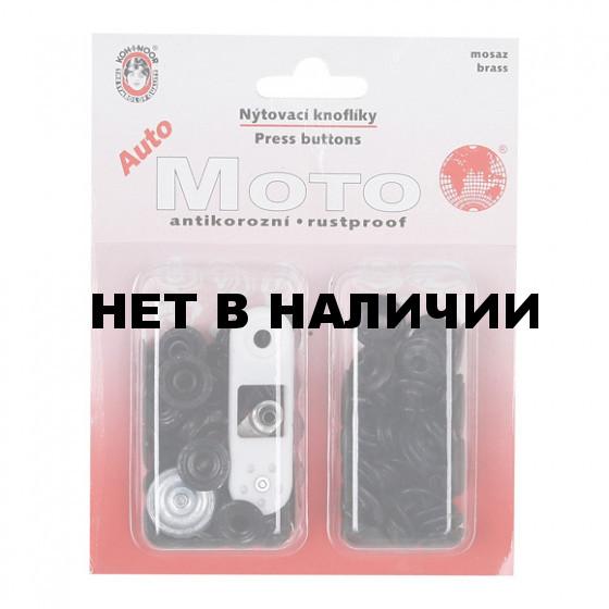 Ремонтный набор. Кнопки АМ6 черный никель