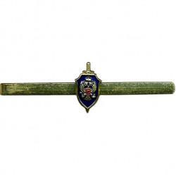 Зажим для галстука ФСБ цветной металл
