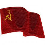 Термонаклейка -1548.3 Развевающийся флаг СССР вышивка