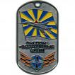 Жетон 4-15 Военно-воздушные силы флаг металл