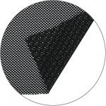 Полотно сетка крупная, черный