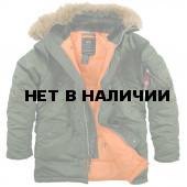Куртка Slim Fit N-3B Parka Sage Green Alpha Industries