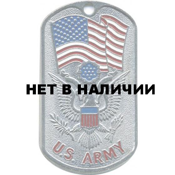 Жетон 1-11 U.S. ARMY флаг металл