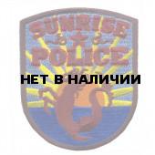 Термонаклейка -1057 Sunrize Полиция Флориды вышивка