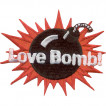Термонаклейка -0004.1 Love Bomb! вышивка