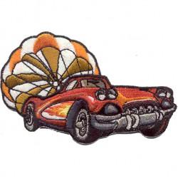 Термонаклейка -01381103 Corvett 1961 с парашютом вышивка