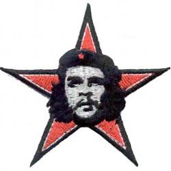 Термонаклейка -0183.1 Че Гевара звезда вышивка
