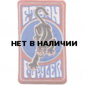 Термонаклейка -0259 Скейтборд ПАНТЕРА вышивка