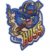 Термонаклейка -0390 THE BOSS вышивка