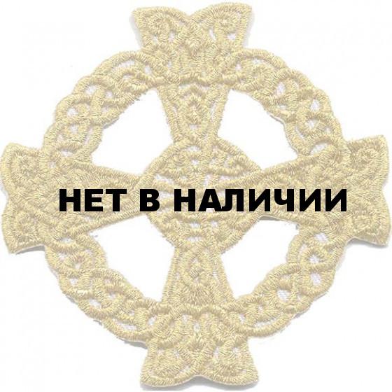 Термонаклейка -0468 Кельтский крест вышивка