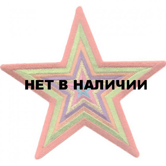 Термонаклейка -0490 Звезда вышивка