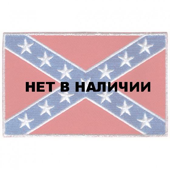 Термонаклейка -0621 Флаг Южной конфедерации вышивка