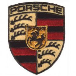 Термонаклейка -0654.2 Porsche малая вышивка
