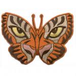 Термонаклейка -0720 Бабочка - тигр вышивка