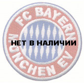 Термонаклейка -0808 FC Bayern Munchen EV вышивка