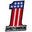 Термонаклейка -0867 Harley-Davidson №1 вышивка