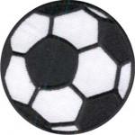 Термонаклейка -1421 Футбольный мяч вышивка