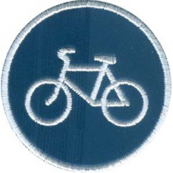Термонаклейка -14681162 Велосипедная дорожка световозвращающая в