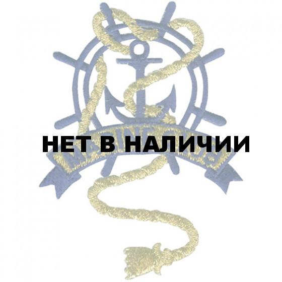 Термонаклейка -1469 Морской клуб вышивка