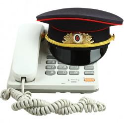 Фуражка сувенирная Полиция с вышивкой