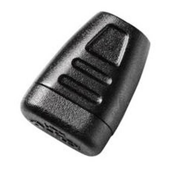 Наконечник для шнура 3мм 1-07334/1-17335 (2 части) черный Duraflex