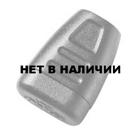 Наконечник для шнура 3мм 1-07334/1-17335 (2 части) оливковый Duraflex
