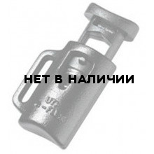 Фиксатор с одним отверстием и держателем 5мм 1-07621 черный Duraflex