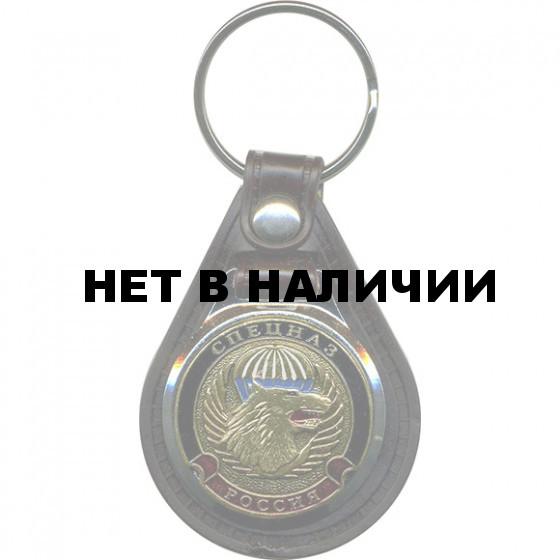 Брелок Россия Спецназ волк на подложке