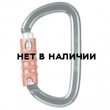 Карабин AM`D TRIACT-LOCK Black(Petzl)