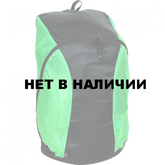Рюкзак Pocket Pack черно-зеленый