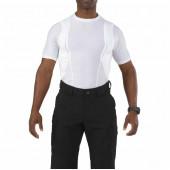 Футболка 5.11 Holster Crew S/S Shirt white M