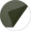 Полотно Сетка, ПЭ, шир. 130 см зеленый