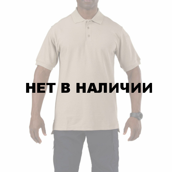 Рубашка 5.11 S/S Utility Polo silver tan