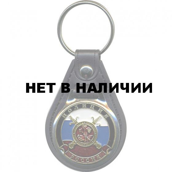 Брелок Россия Полиция на подложке