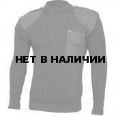 Свитер с накладками арт.с45 черный