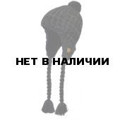 Шапка полушерстяная marhatter 4366 черный/серый